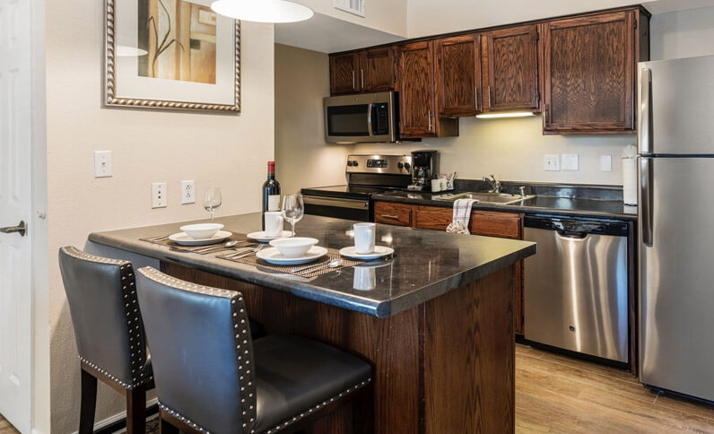 Room With Private Kitchen